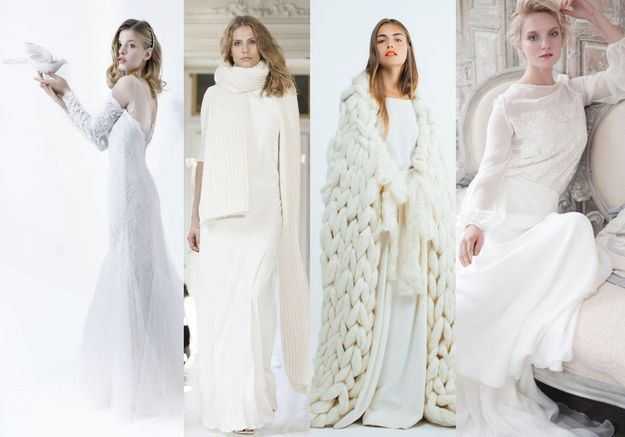 22 robes de mariée d'hiver éblouissantes