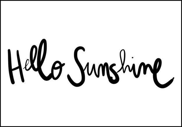 10 mantras pour apporter du soleil dans vos journées