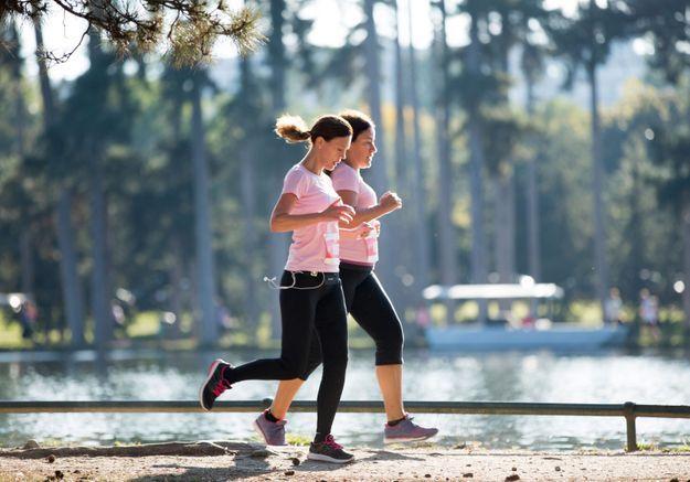 Les coureurs investissent le Bois de Boulogne