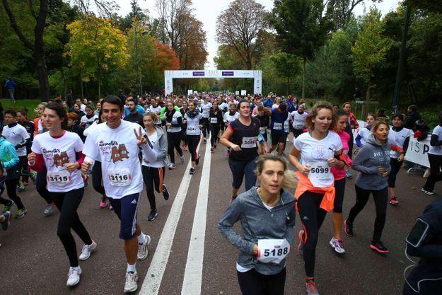 Les ELLE Runners investissent le Bois-de-Boulogne
