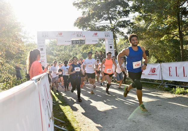 Les coureurs s'élancent pour 7 ou 10 km