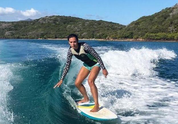 Marine Lorphelin au surf