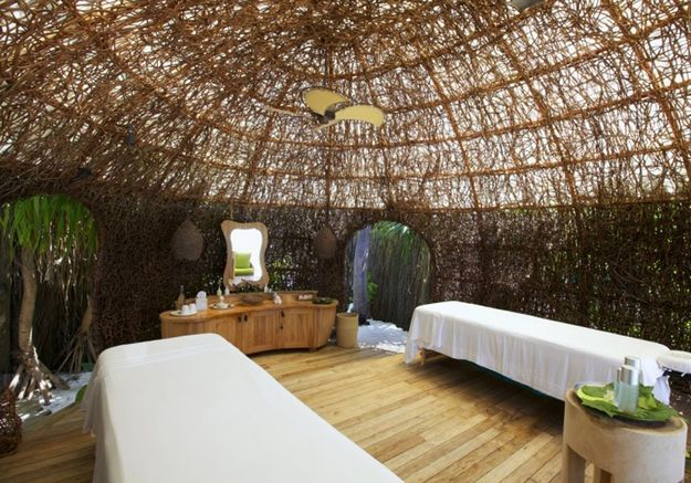 Le Spa du Six Senses Laamu (Ile de Olhuveli, Maldives)