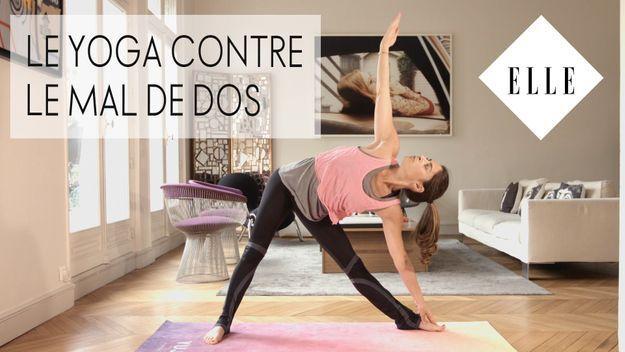 Le yoga contre le mal de dos