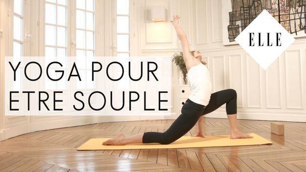 Le yoga pour être souple