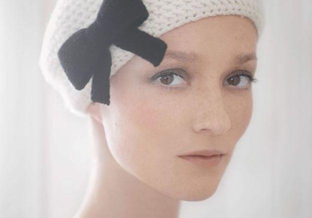 Accessoires en mailles bonnet noeud Claudie Pierlot