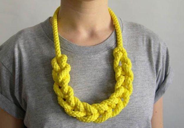 Accessoires en mailles gabriel and schwan necklace