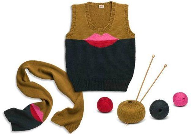 Accessoires en mailles kit tricot kenzo