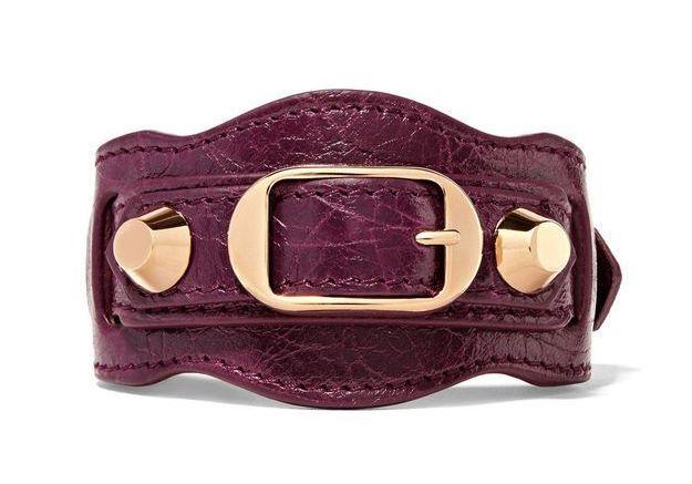 Bracelet en cuir Balenciaga