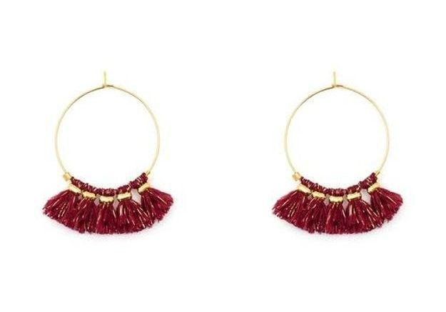 Boucles d'oreilles à pompons Solweig Bijoux