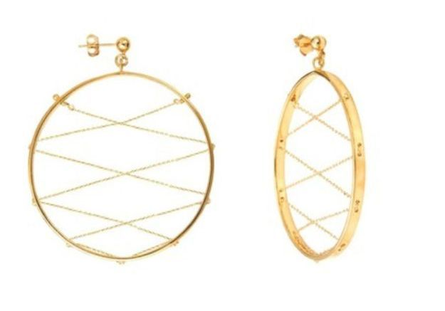 Boucles d'oreilles géométriques Caroline Najman