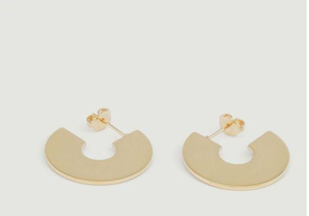 Boucles d'oreilles géométriques Les Partisanes