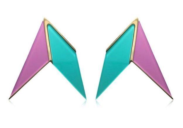 Boucles d'oreilles géométriques Sylvio Giardina
