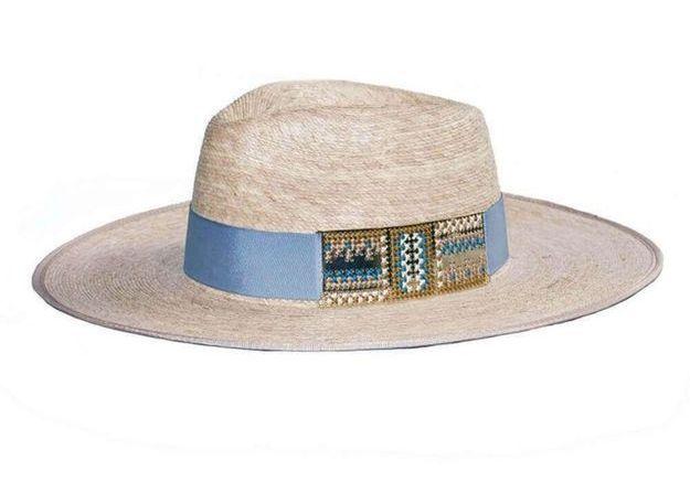 Chapeau de paille Camille Enrico