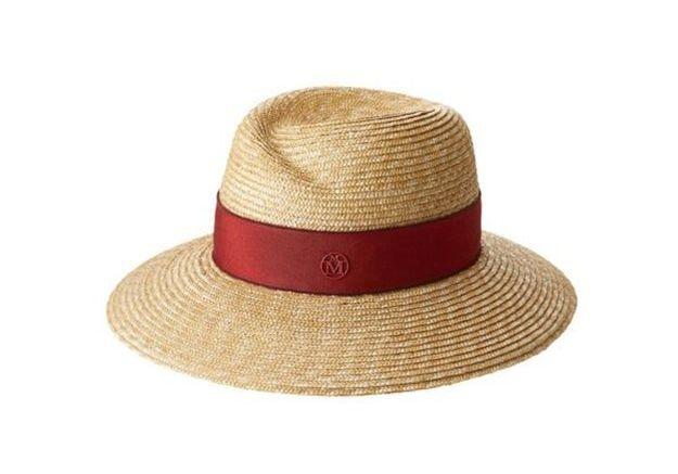 Chapeau de paille Maison Michel