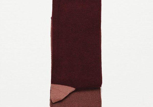 Chaussettes fantaisie, Zara