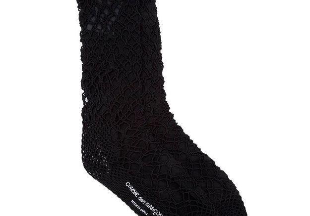 Chaussettes texturées Comme des garçons
