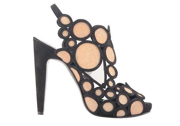 Sandales noires Pierre Hardy
