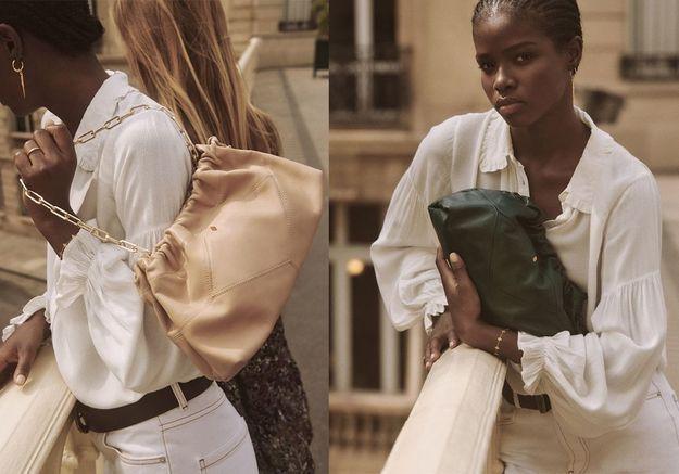 #ElleFashionCrush : ba&sh dévoile le sac que l'on veut toutes cet automne