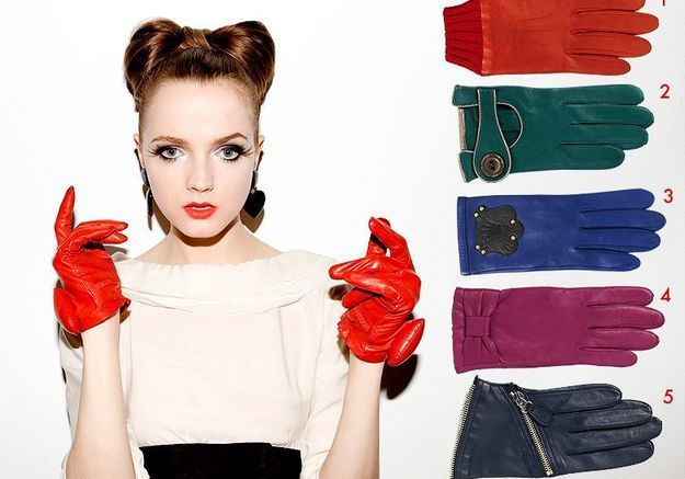 Mode guide shopping tendance look conseils accessoires gants fifties