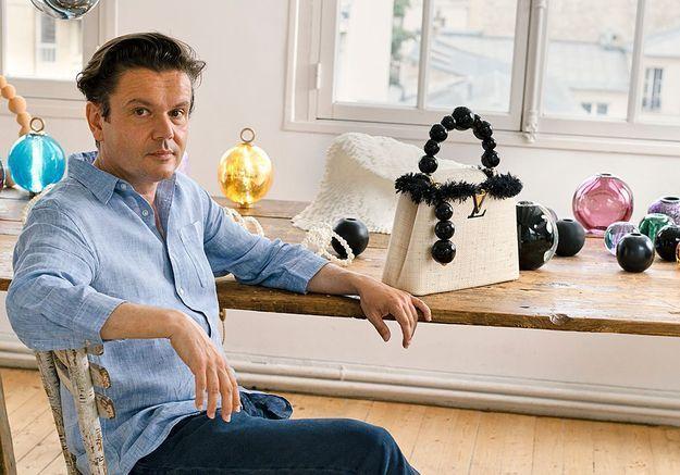 Louis Vuitton : le sac Capucine réinventé par Jean-Michel Othoniel