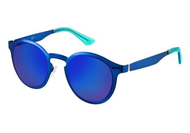 Lunettes de soleil miroir bleu Oxydo