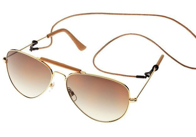 Mode tendance guide shopping lunettes visage carre aviator h et m