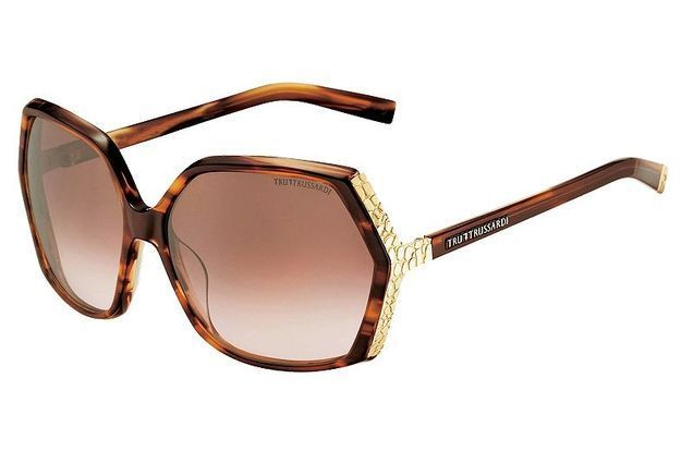 Mode tendance guide shopping lunettes visage ovale branches or trussardi