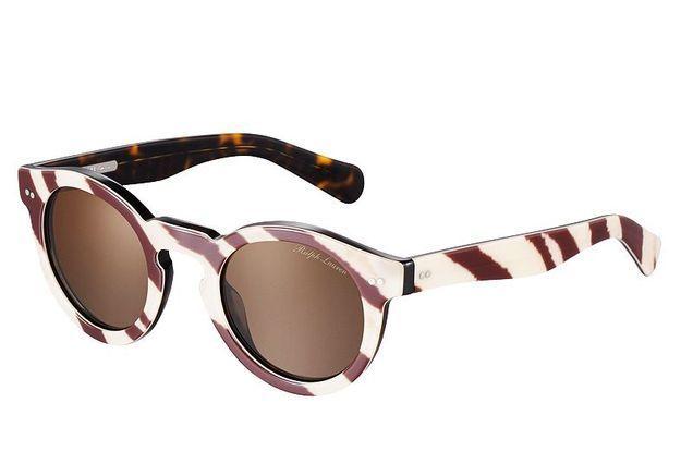 Mode tendance guide shopping lunettes visage rond zebre ralph lauren