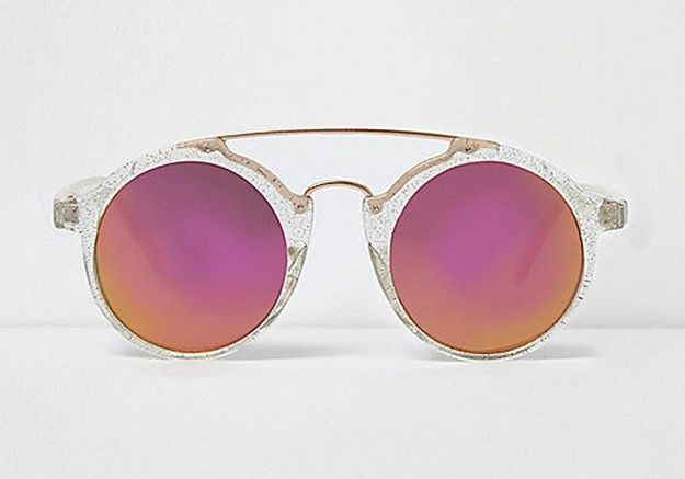 Lunettes rondes River Island