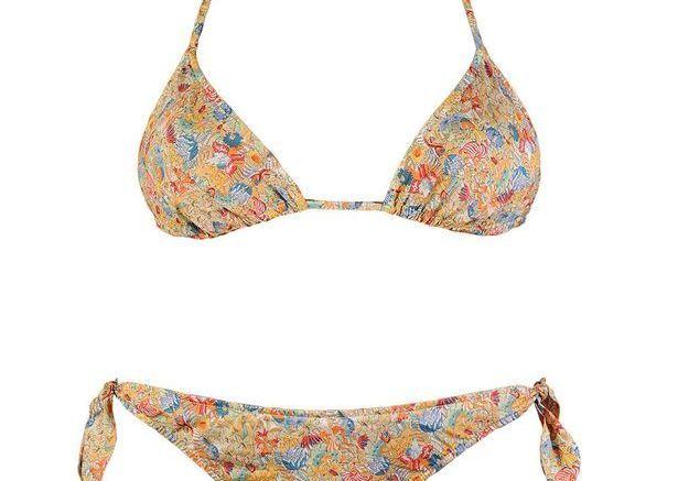 Maillot de bain triangle bikini Bronzette