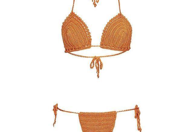 Maillot de bain triangle crochet Asos