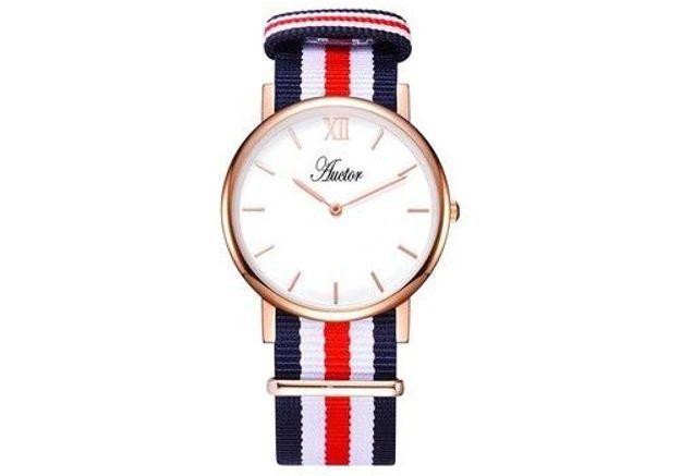 Montre bracelet tricolore Auctor Watches