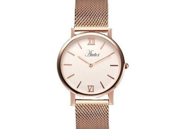 Montre dorée Auctor Watches
