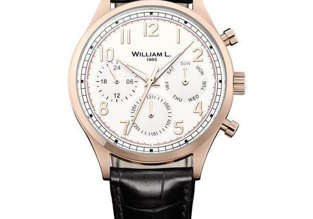 Montre vintage William L. 1985