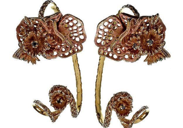 Mode accessoires guide shopping boucles oreilles retro vermeil yukie deux points
