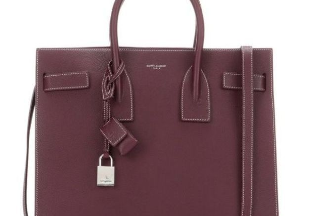 Sac bordeaux Saint Laurent Paris