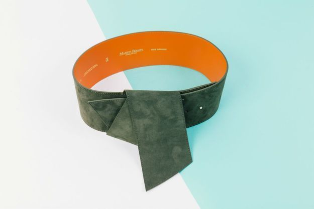 La ceinture large de Maison Boinet