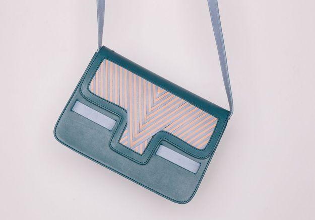 Le sac en cuir Lili Radu