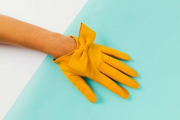 Les gants Audrey de Maison Fabre