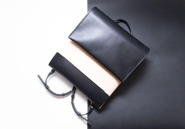 Le sac à dos en cuir Iala Díez
