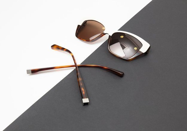 Les lunettes en acétate avec branches aimantées Baars Eyewear
