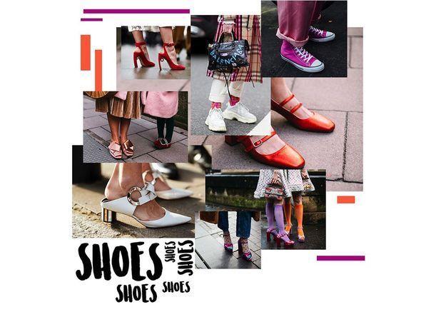 100 paires de chaussures canon repérées à la FW