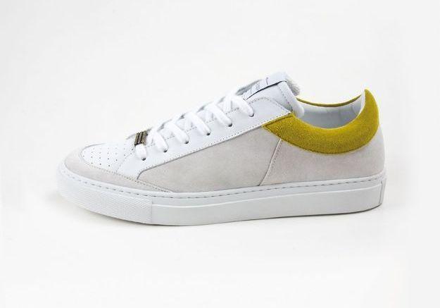 Baskets blanches Clio Goldbrenner