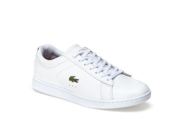 Baskets blanches Lacoste