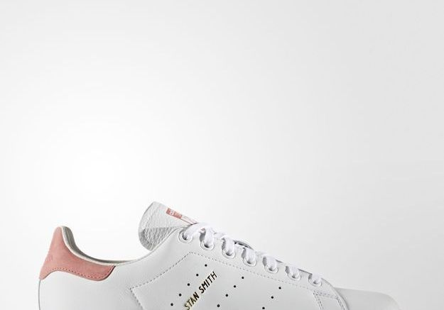 Stan Smith White:Raw Pink Adidas