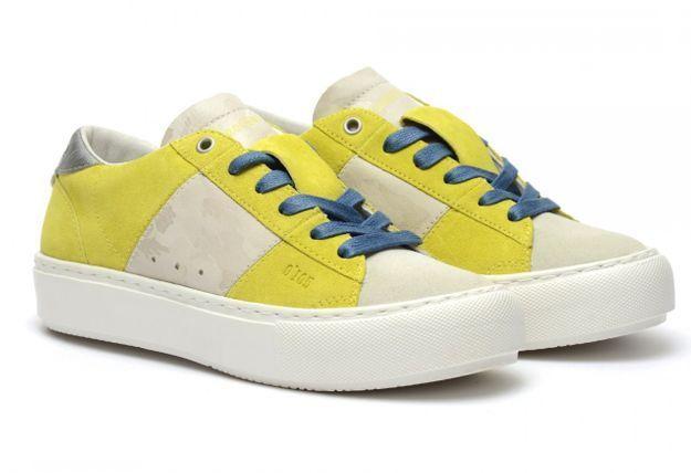 Baskets jaunes Zero Cent Cinq