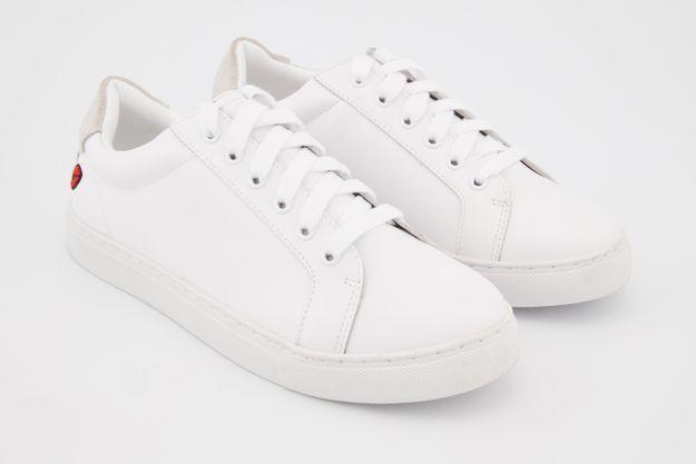 Baskets blanches Bons Baisers de Paname