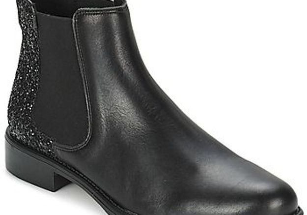 Bottines noires Betty London