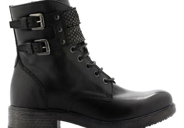 Bottines noires Cosmo Paris